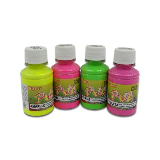 PVA-Fluorescente-100ml-Familia
